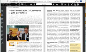 Jetzt anmelden zum 2. eCommerce Logistik-Day in Wien