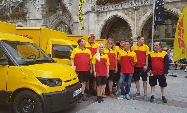 DHL startet mit CO2-freier Lieferung in München
