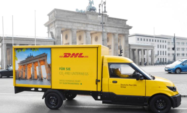 DHL weitet Elektroflotte in Berlin aus