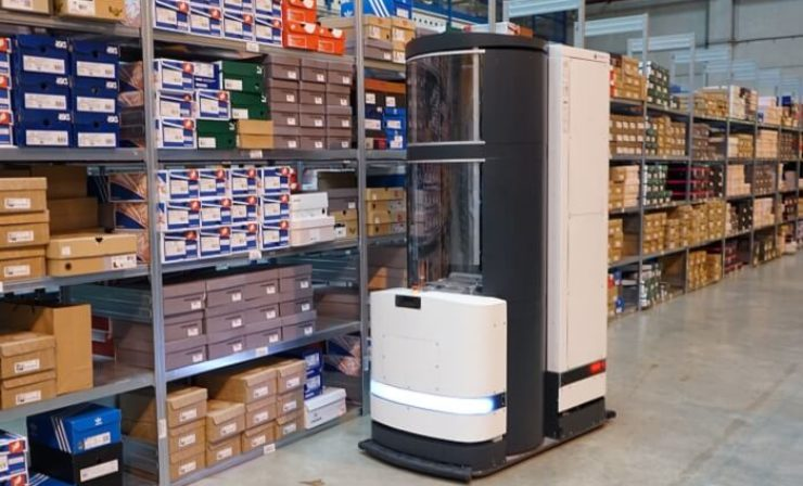 Roboter in der Intralogistik – Wenn die Ware zum Menschen kommt