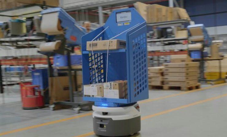 All about DHL: Roboter im Lagerbetrieb | Vertragsverlängerung mit Dänischem Bettenlager | Nutzlasttransport zum Mond