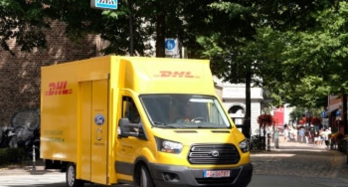 deutsche post dhl group und ford stellen e transporter streetscooter work xl vor logistik. Black Bedroom Furniture Sets. Home Design Ideas