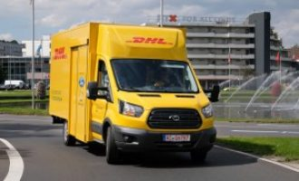 Ford & DHL unveil electric van