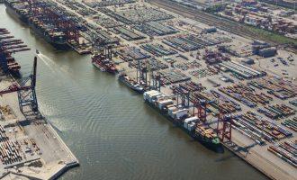 Seegüterumschlag: Hamburger Hafen stagniert auf Vorjahresniveau