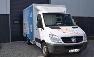 UNITAX beliefert Apotheken per E-Mobil
