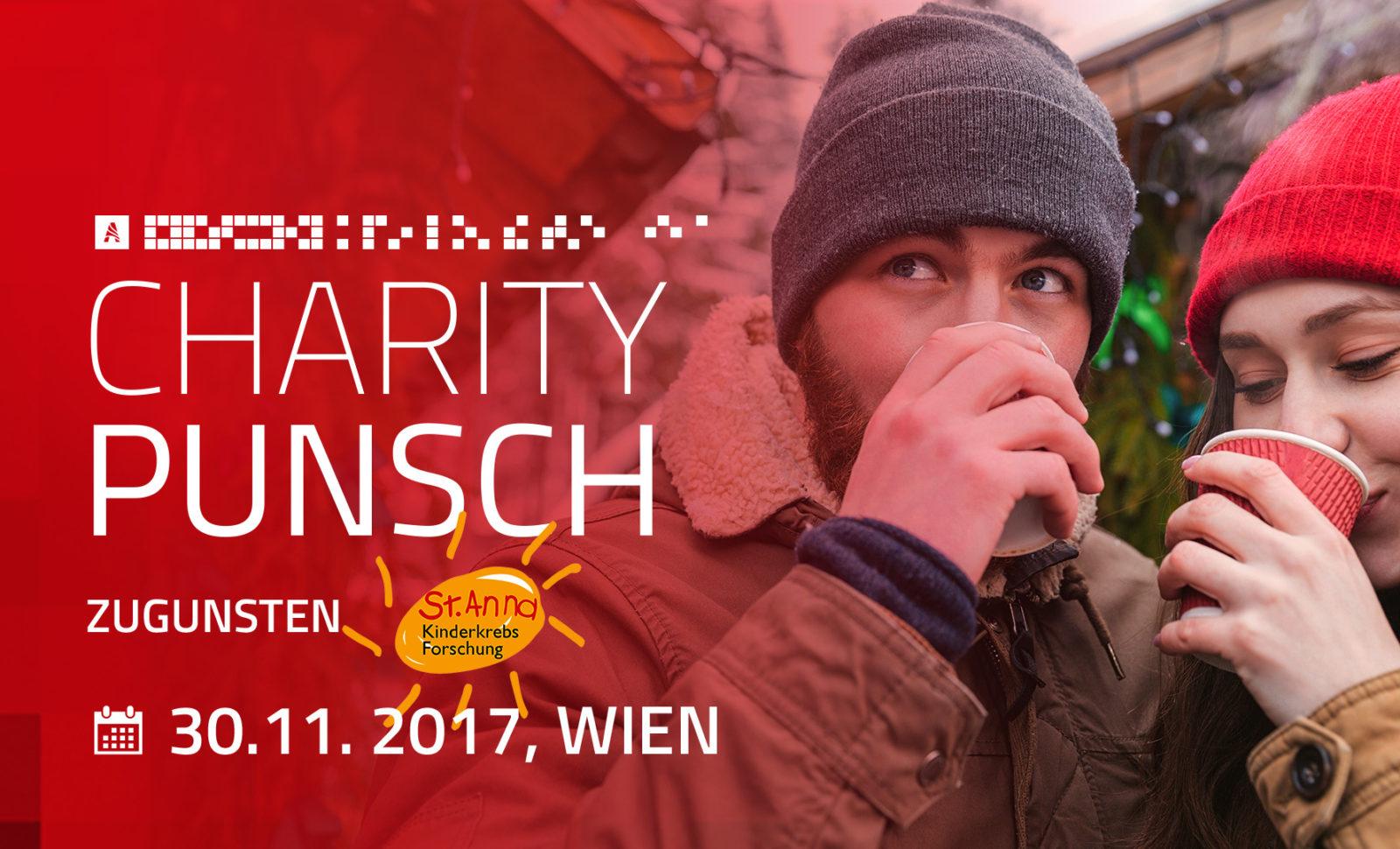A-COMMERCE Charity Event zugunsten der St. Anna Kinderkrebsforschung am 30.11.2017