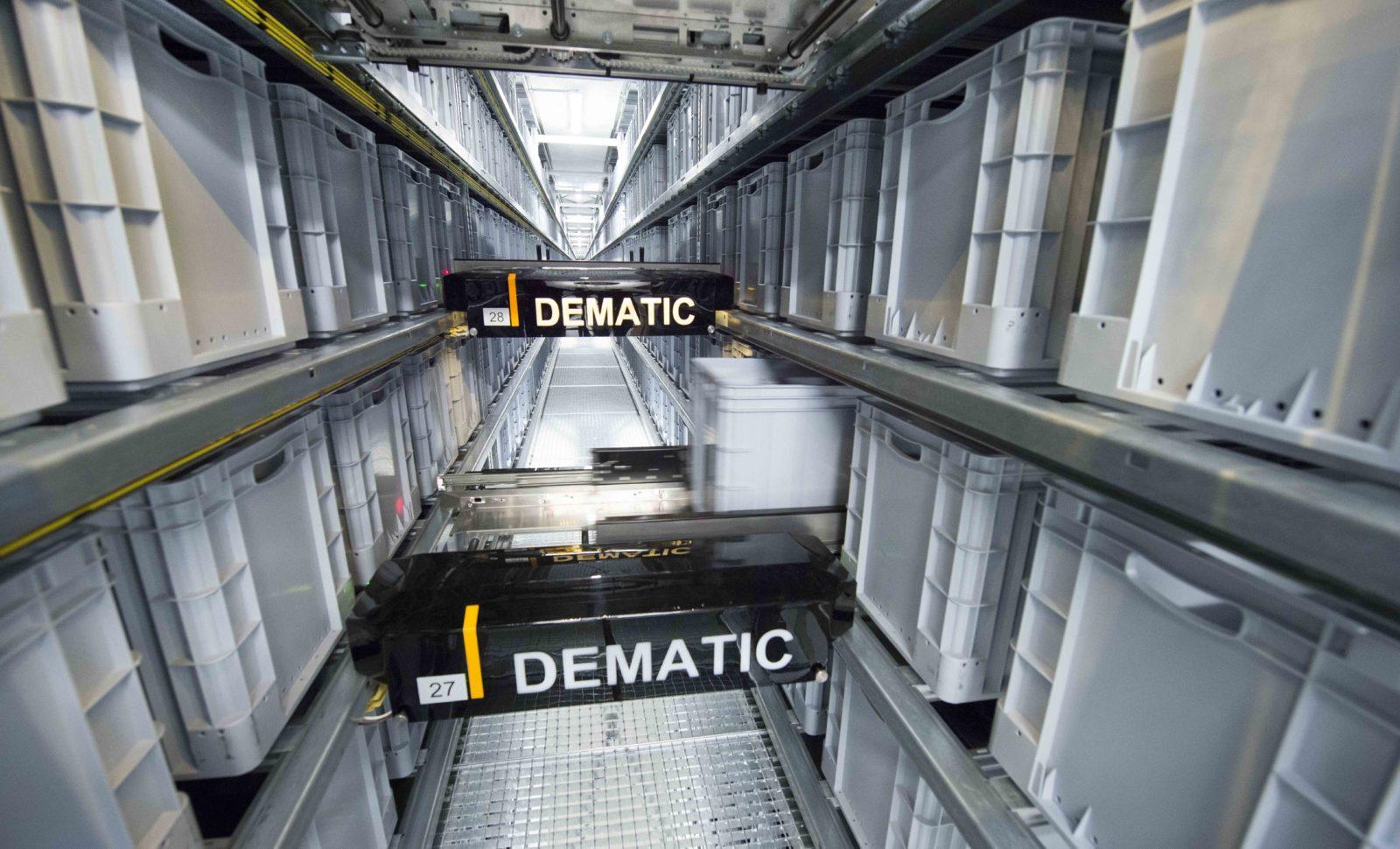 Dematic erhält Auftrag  von Siemens in der Schweiz