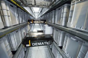 Multishuttle-System von Dematic