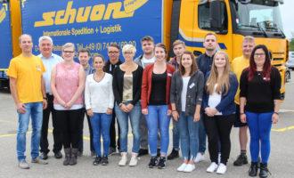 Berufsstart: Schuon begrüßt elf junge Menschen in Ausbildung und Studium