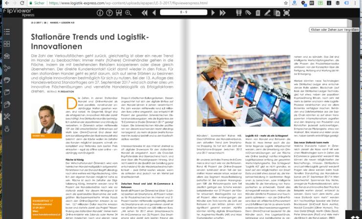 Stationäre Trends und Logistik-Innovationen – 13. Standorttag des Handelsverbandes in Wien