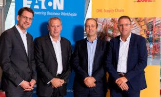 DHL entwickelt und steuert Distributionszentren für Eaton