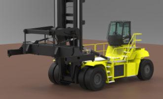 Hyster develops 48 tonne electric truck