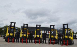 Pall-Ex upgrades forklift truck fleet