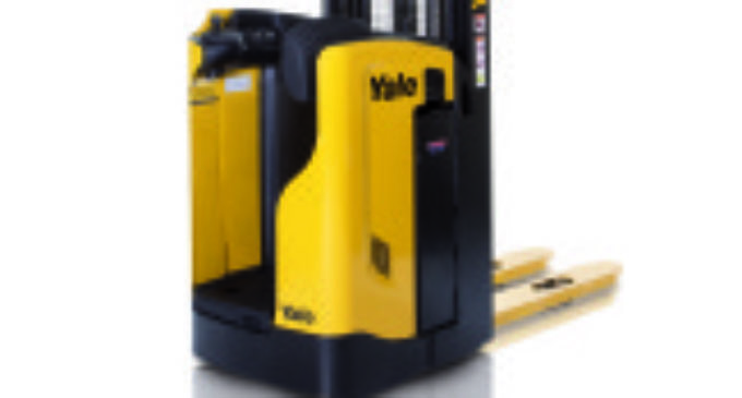 Yale launches 1.6t Rider Stacker