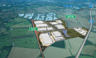Construction starts on 574,000 sq ft warehouse at Magna Park
