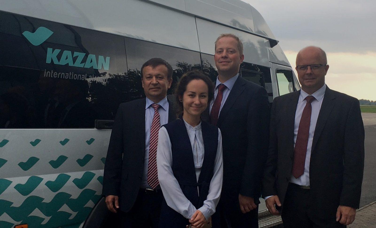 Kontakte in Russland vertiefen und ausbauen: Mitteldeutsches Logistiknetzwerk in Tatarstan vorgestellt