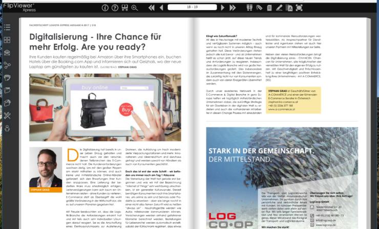 Digitalisierung – Ihre Chance für mehr Erfolg. Are you ready?
