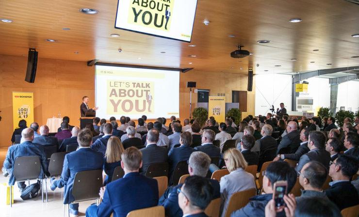 Logistica 2017: SSI Schäfer präsentiert in Graz internationalen Entscheidungsträgern zukunftsorientiere Lösungen der Intralogistik