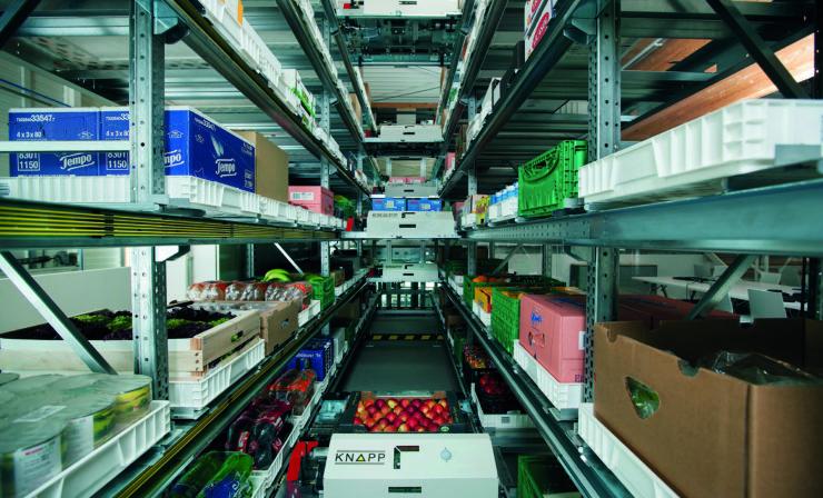 Takeoff revolutioniert den Online-Lebensmittelhandel in den USA mit KNAPP-Technologie