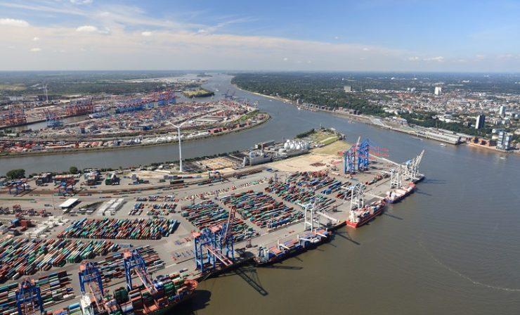 Hamburger Hafen: 104 Millionen Tonnen Següterumschlag in ersten neun Monaten