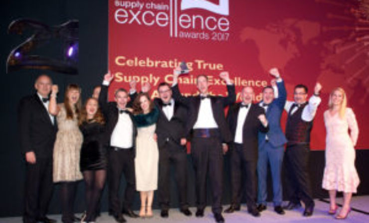 Winners 'blown away' by Supply Chain Excellence Awards