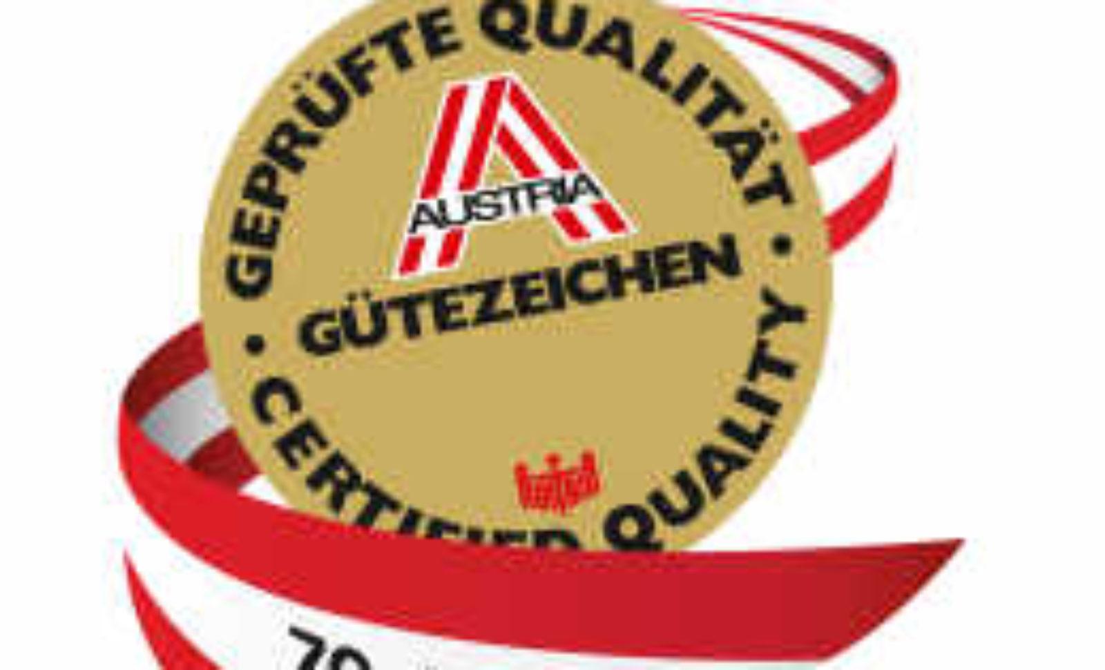 Austrian Gütezeichen Katalog