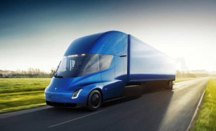 Grüne Logistik: DHL bestellt zehn E-Lkw von Tesla
