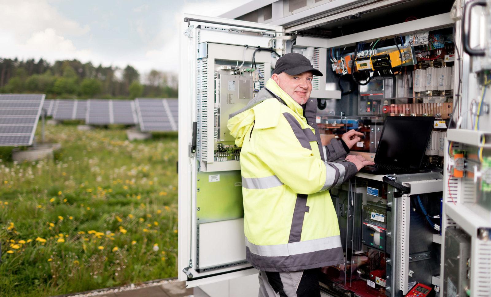 Solaranlage gegen schlechten Ruf der Logistik