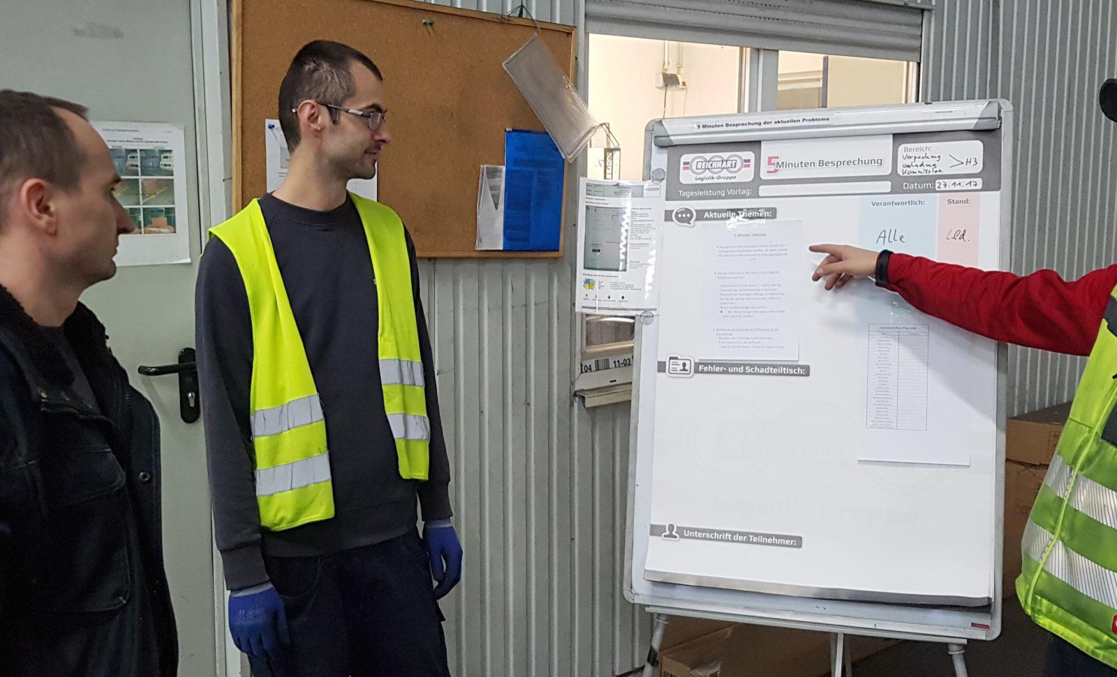 REICHHART Standort steigert Produktivität durch vollen Einbezug der Mitarbeiter
