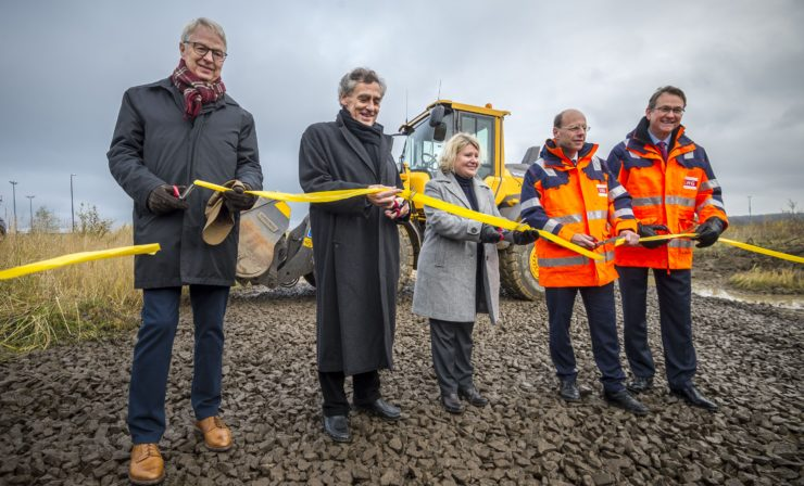 Ausbau am Lübecker Skandinavienkai beginnt