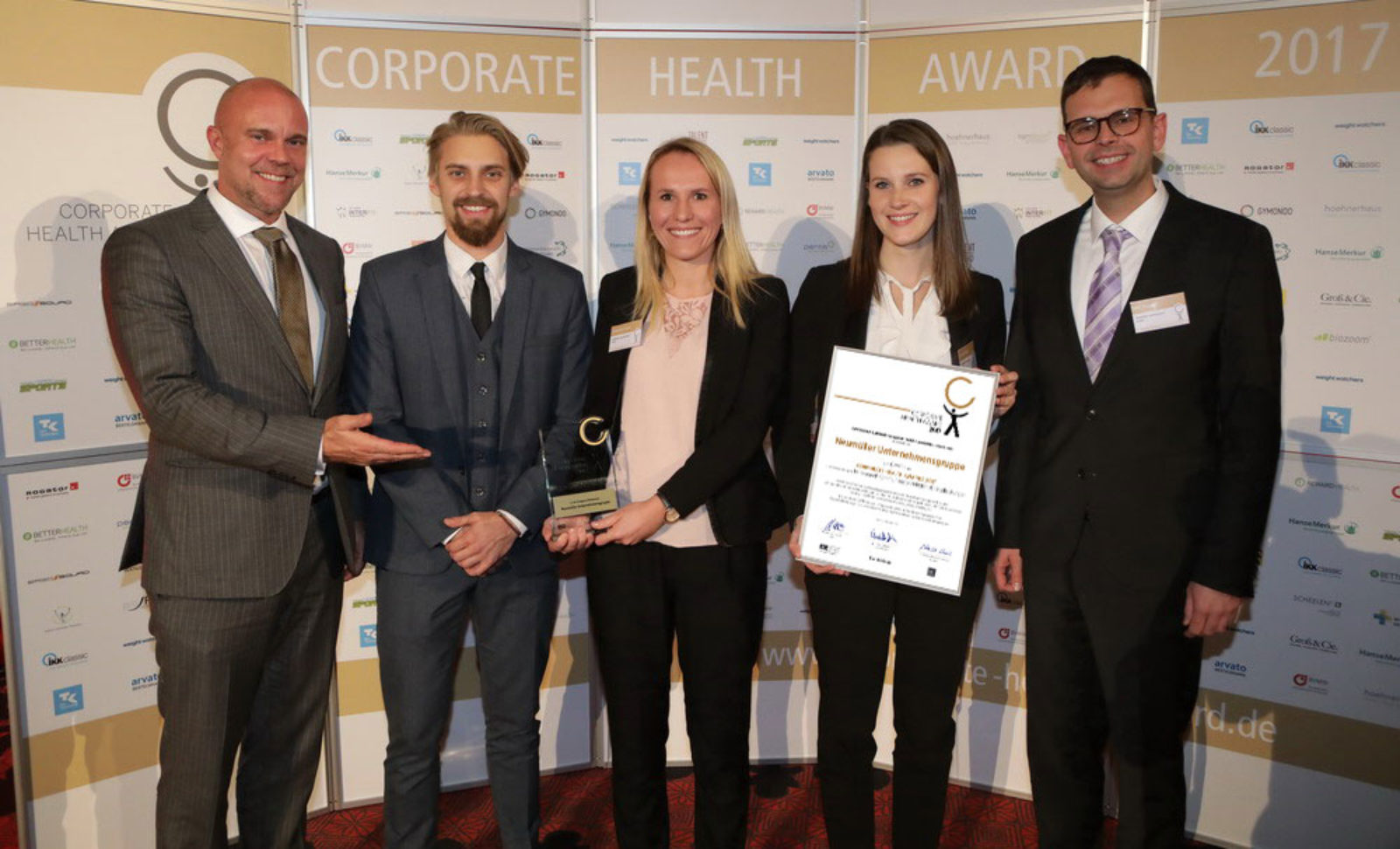 Corporate Health Award 2017