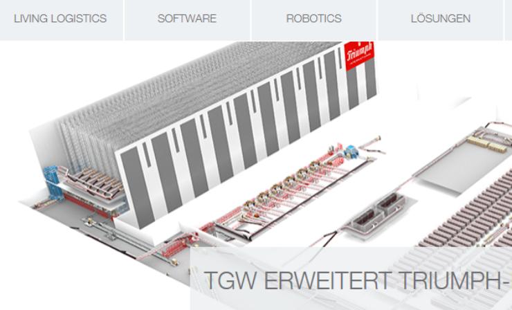 Neue Strategie – neue Logistik: TGW erweitert Triumph-Logistikzentrum