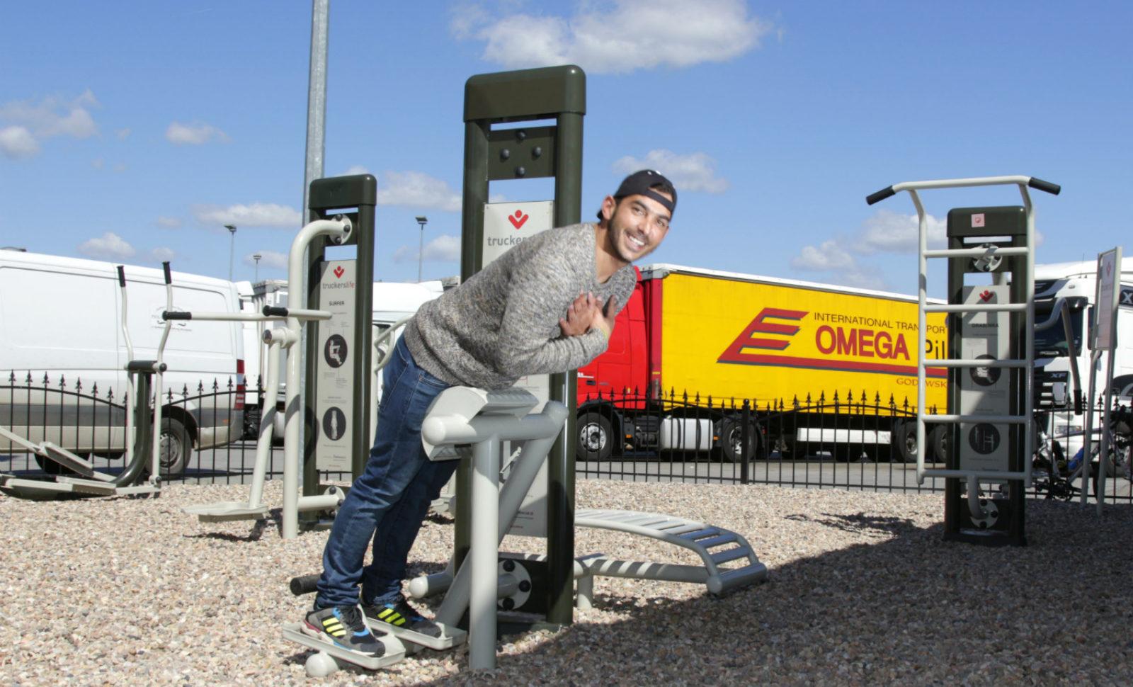 Eurowag: Erster Truck-Park mit Fitnessbereich in Tschechien