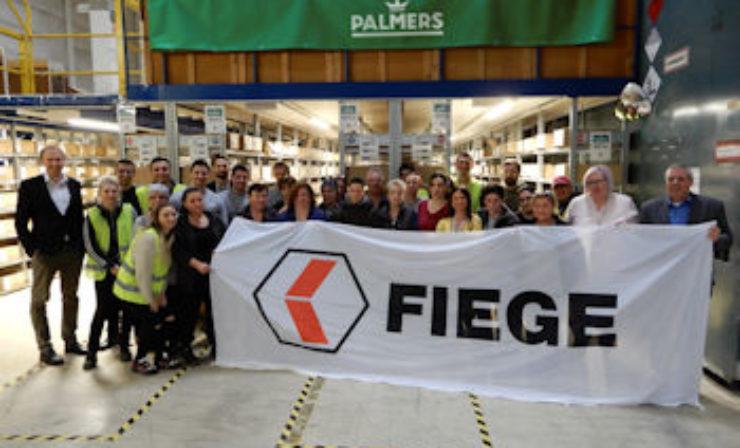 Fiege-Standort in Wien ist neuer Logistikstandort für Palmers