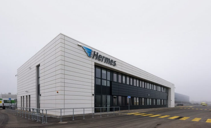 250.000 Sendungen am Tag: Hermes nimmt Logistikzentrum Berlin-Brandenburg in Betrieb