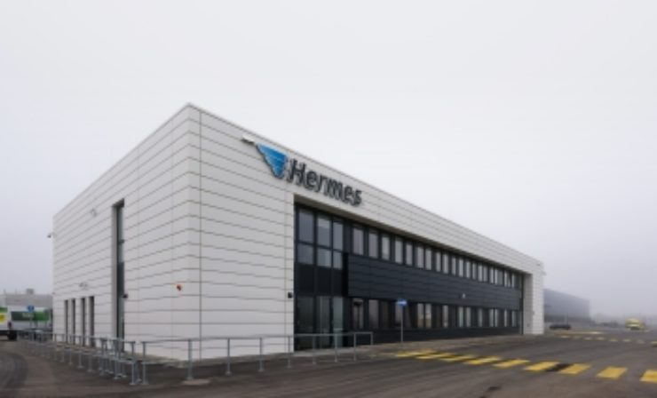 Hermes nimmt Logistik-Center Berlin-Brandenburg in Betrieb