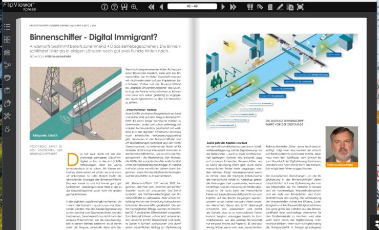 Binnenschiffer – Digital Immigrant?