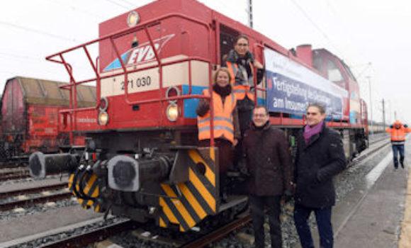 Eisenbahnhafen Bremerhaven mit neuen Stärken