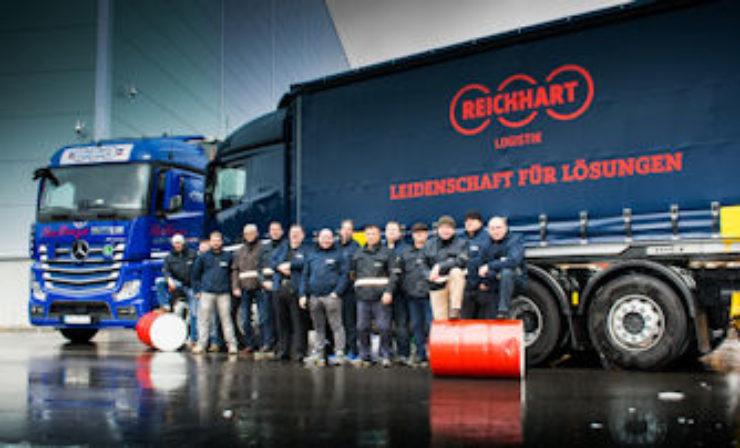 Diesel-Spar-Wettbewerb bei Reichhart Logistik