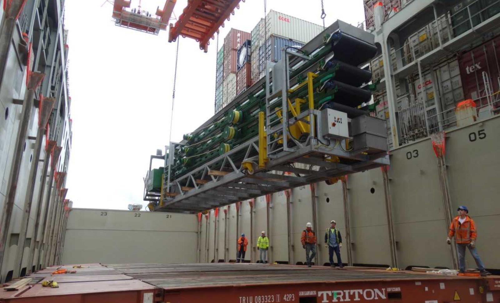 Sondertransporte sorgten auch 2017 für spannende Projekte bei cargo-partner