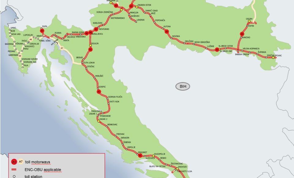 UTA ermöglicht Abrechnung der Mautgebühren in Kroatien