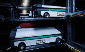 KNAPP feiert mit OSR Shuttle Evo Weltpremiere auf der LogiMAT