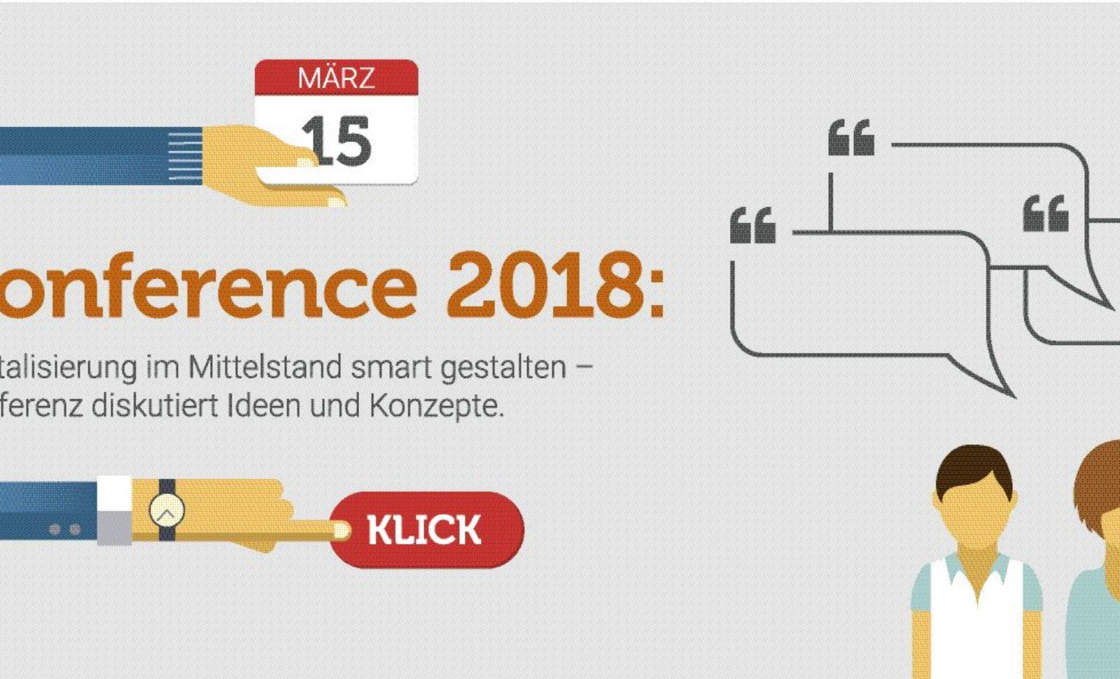 forconference 2018: Digitalisierung im Mittelstand smart gestalten