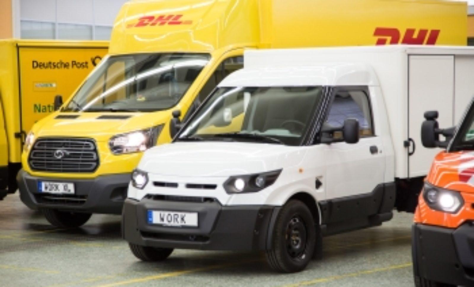 Deutsche Post DHL Group baut Leasing von Streetscooter-Elektrofahrzeugen aus