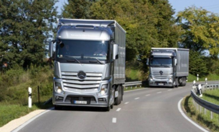 Daimler Trucks: Absatz 2017 deutlich über Vorjahr