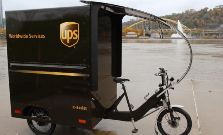 UPS: Positive Bilanz für eigene Fahrradkurier-Flotte