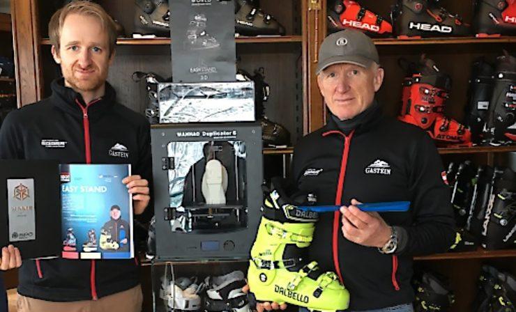 Weltneuheit: 3 D-Druck bei Skischuhen