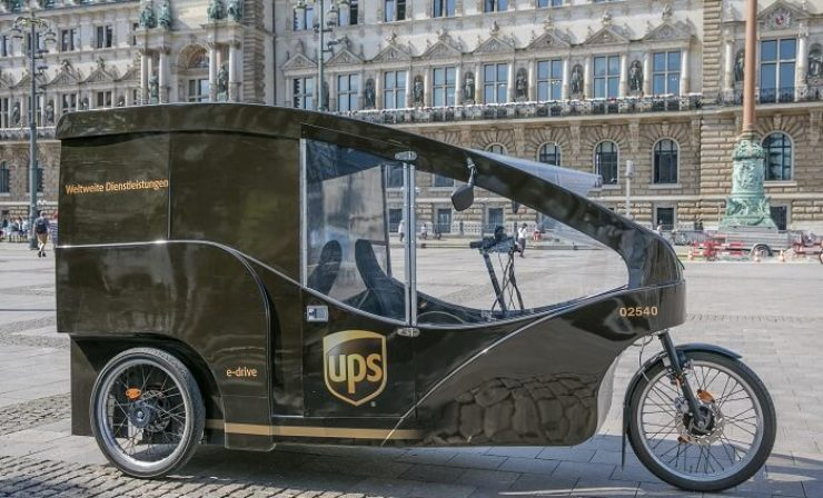 UPS: Micro-Hubs in Hamburg haben Nachholbedarf