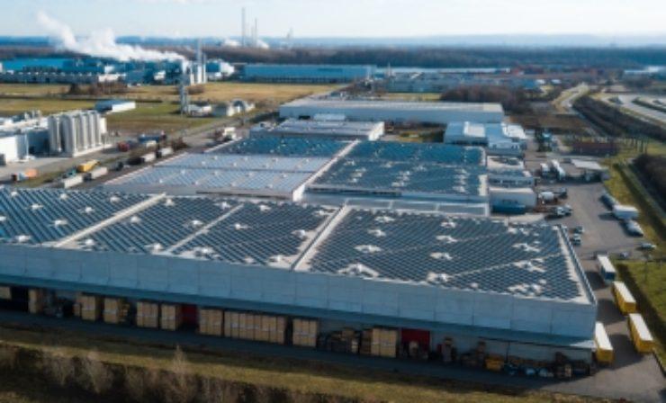 Spedition Nuss setzt mit neuer Photovoltaikanlage auf Nachhaltigkeit