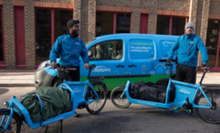 CitySprint to trial hydrogen van